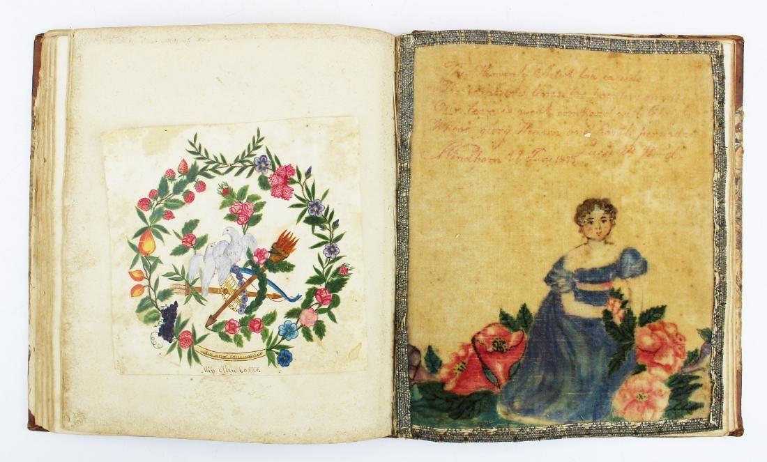 1829 Newfane, VT remembrance book