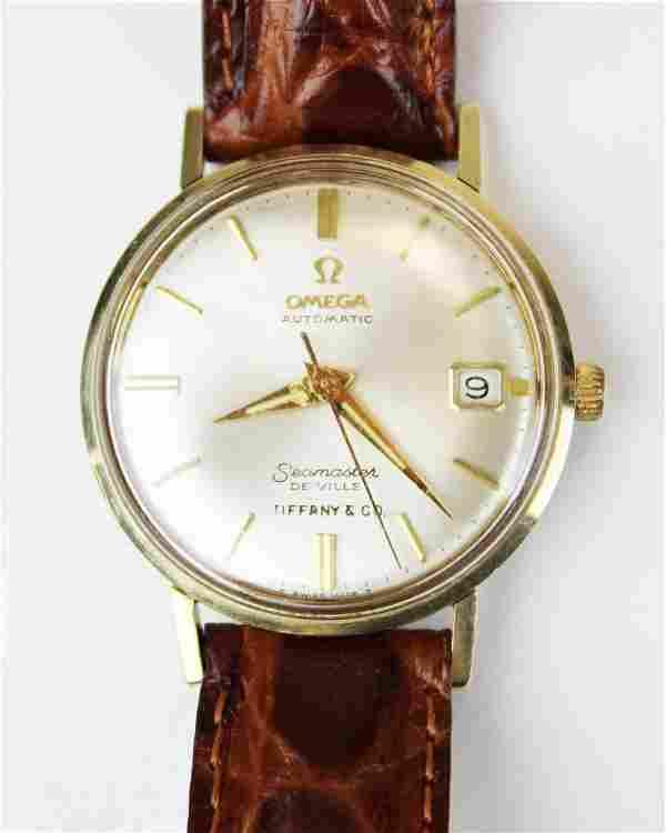 Men's Omega seamaster Tiffany wrist watch