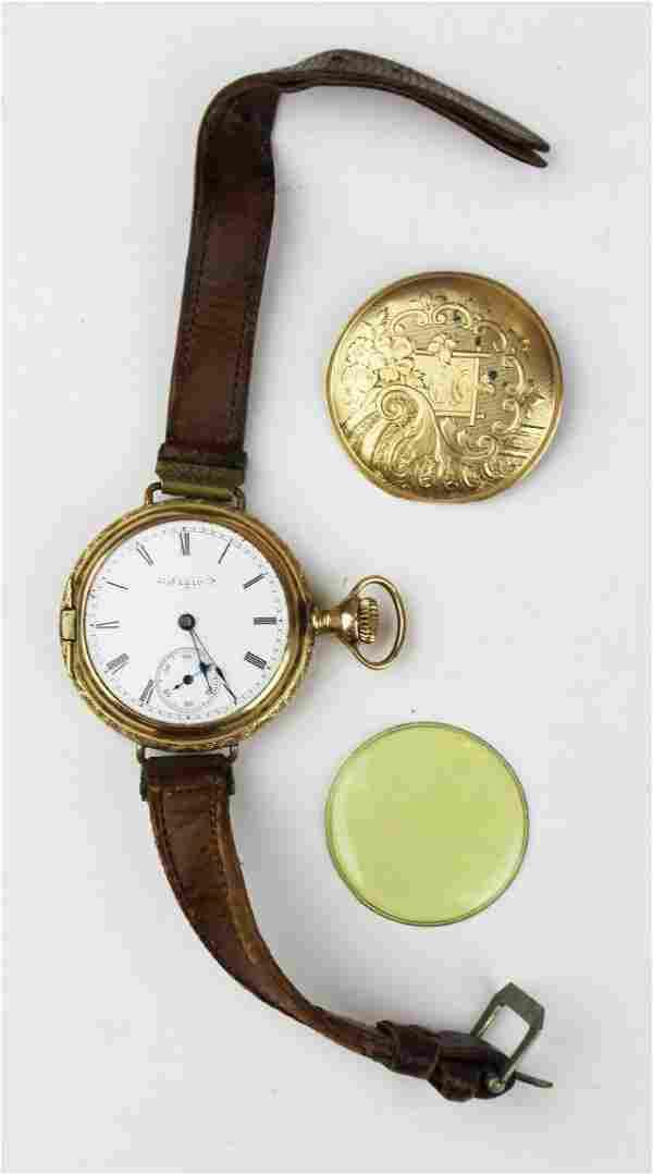 Elgin 14k wrist watch