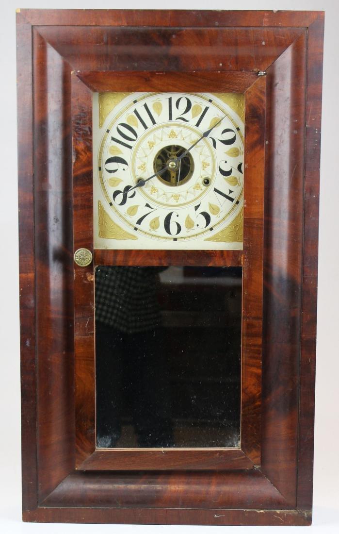 Williams, Orton, Preston's & Co shelf clock