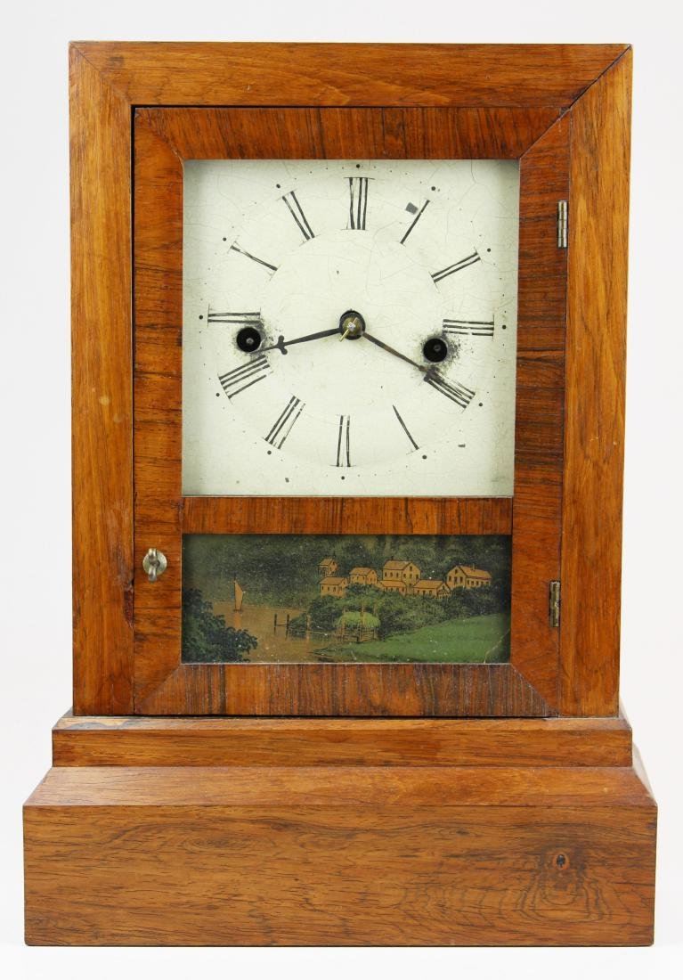 Terry & Andrews 30 hour shelf clock