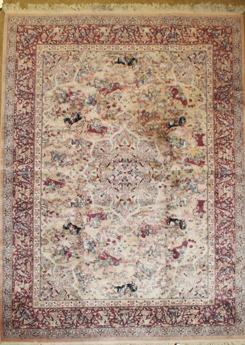 Karastan Oriental style main carpet