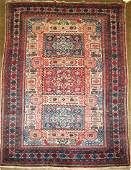 early to mid 20th c Persian area rug
