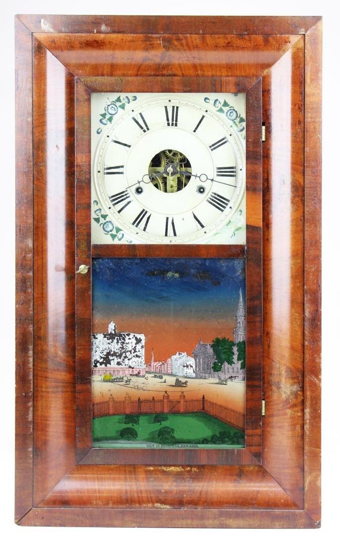 Seth Thomas 8 day ogee shelf clock