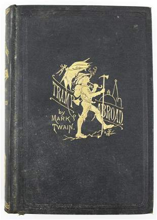 1894 Mark Twain A Tramp Abroad