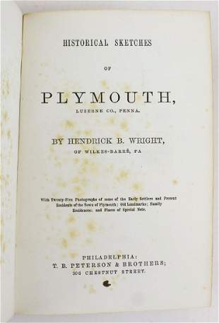 Historical Sketches of Plymouth Luzerne Co, PA
