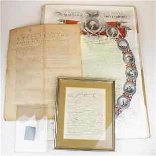 United States Declaration of Independence pcs