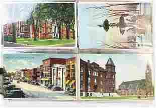 St Albans, VT photos, postcards incl dead Fenian