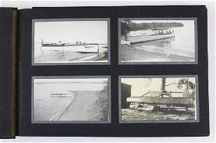 1916 St Albans Bay, VT snapshot photographs