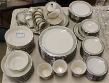94 pcs Lenox Memoir  porcelain dinnerware