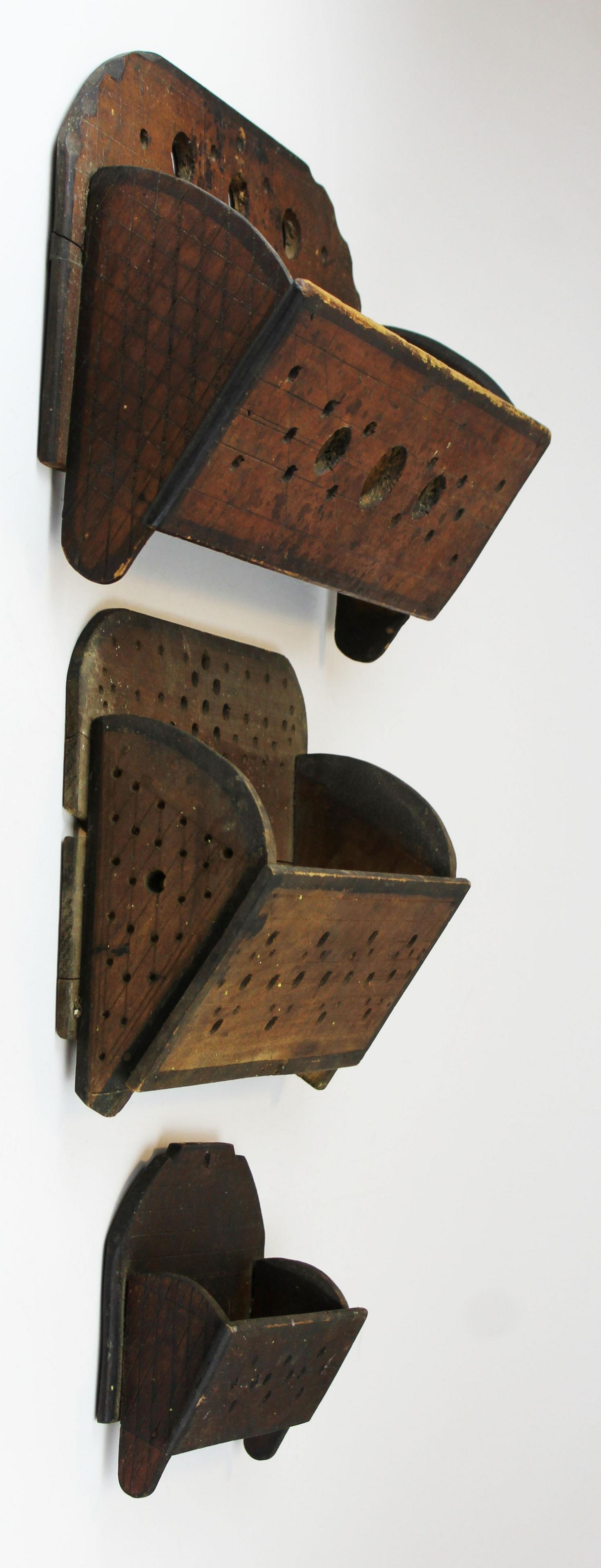 Lemuel Stevens, West Derby, VT wall boxes