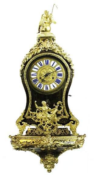 18th c Le Faucheur Paris bracket clock
