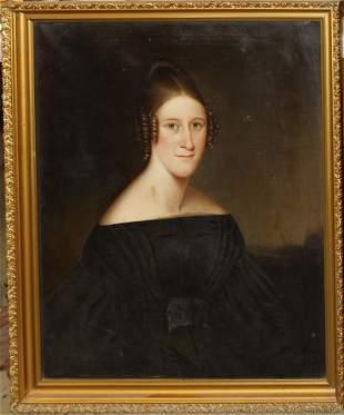 Abraham GD Tuthill (NY 1777-1843) Portrait of a lady