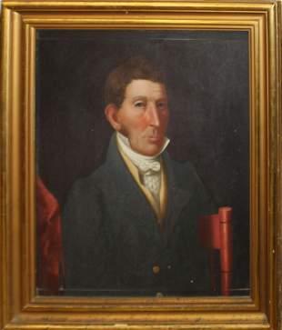 Asahel Powers (VT 1813-1843) Portrait of a Gentleman