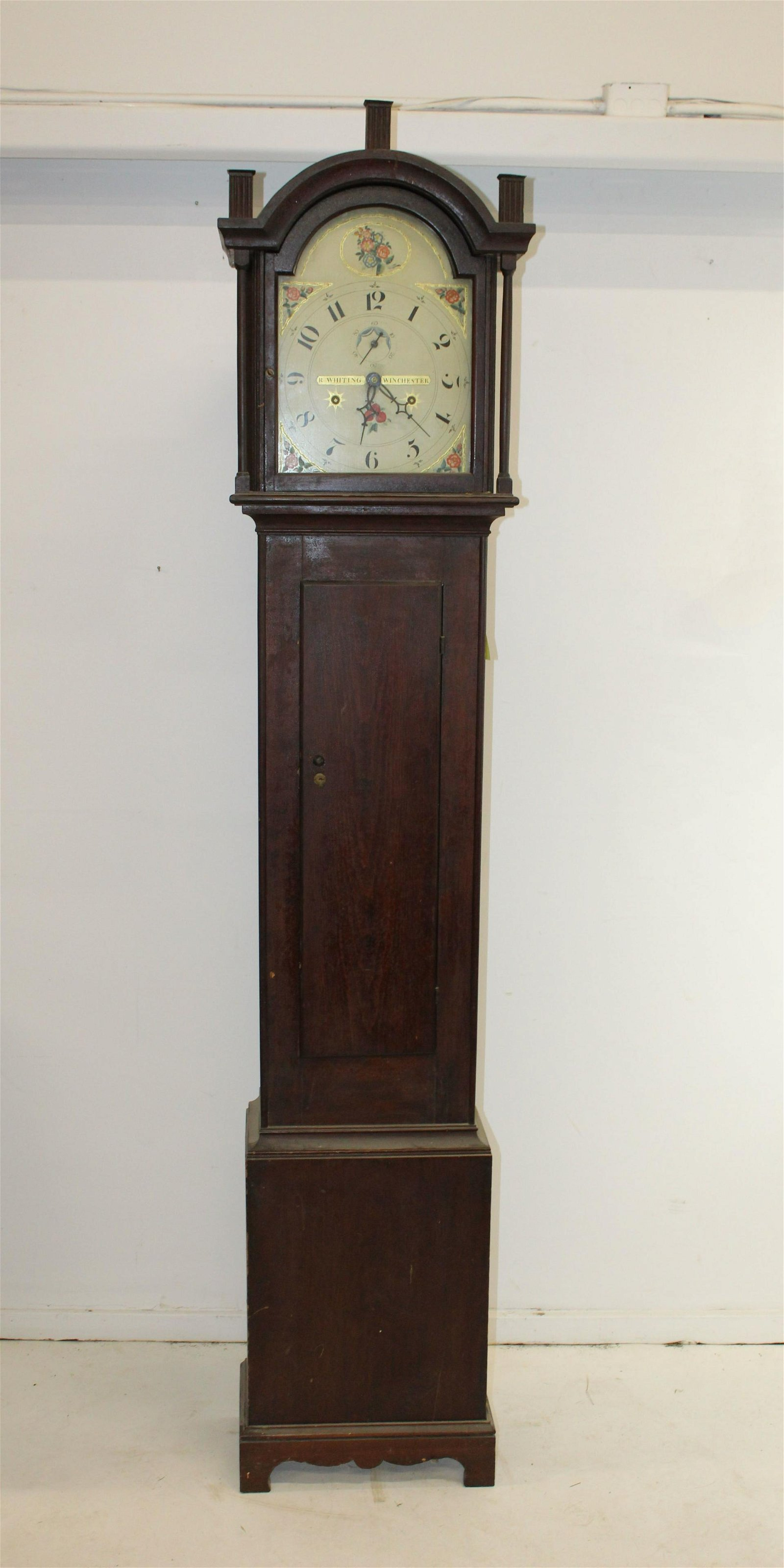 19th c. Riley Whiting CT tall case clock