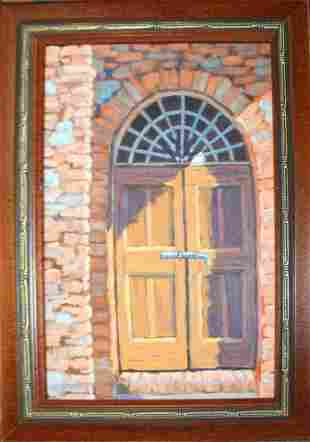 Susan Goodby VT 20th c door