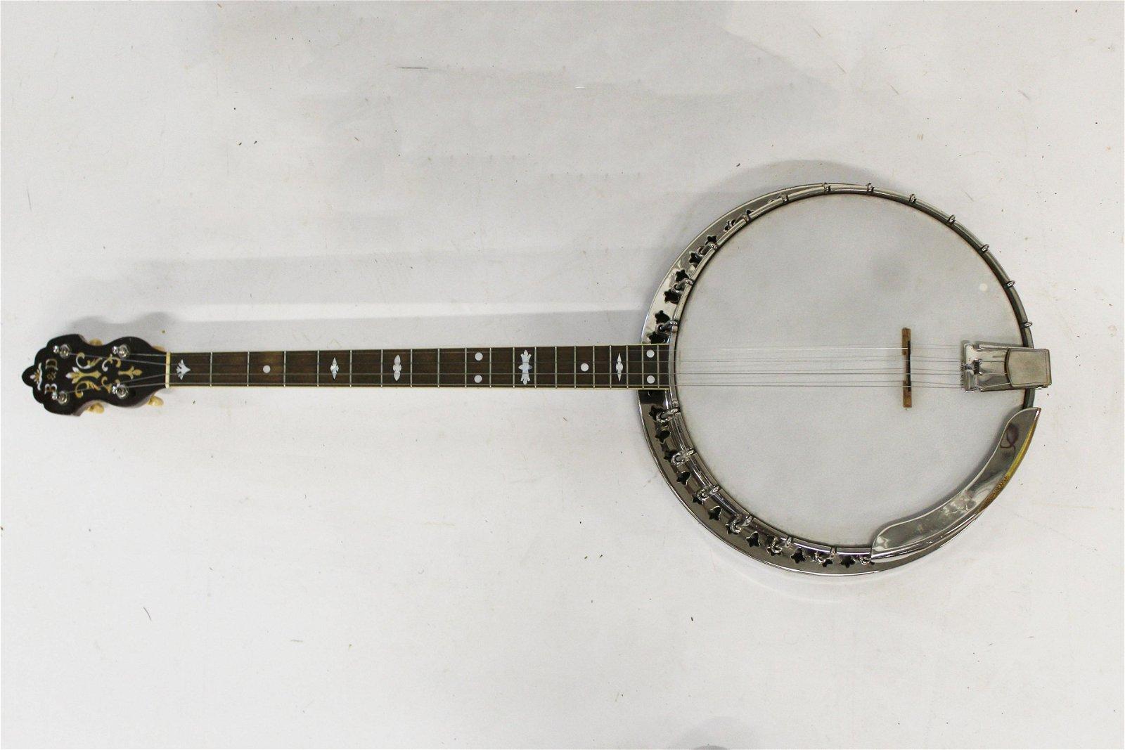 1920's Bacon & Day 4 string banjo
