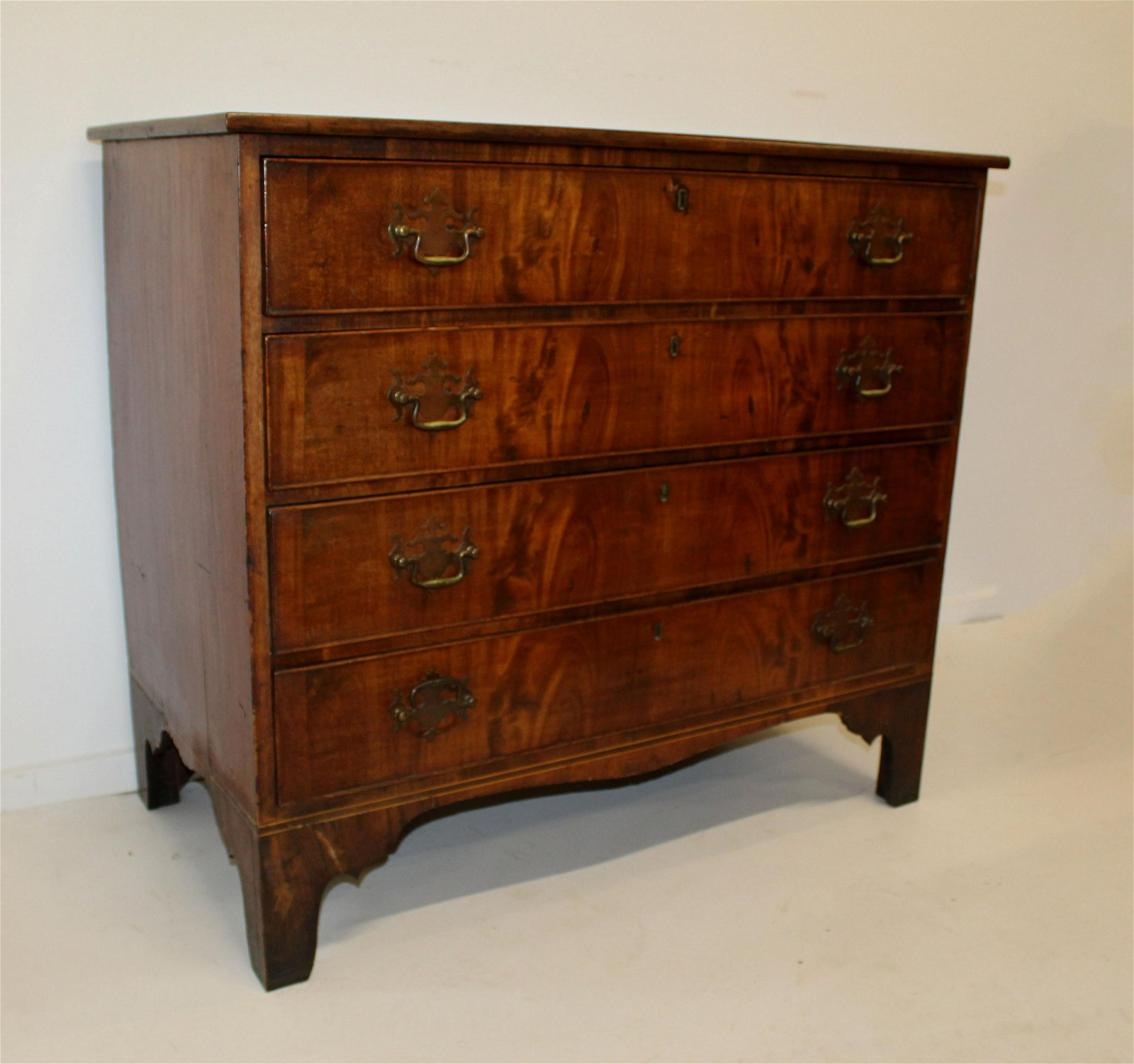 Chippendale four drawer chest