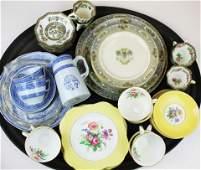 Spode Colclough Lenox and Coalport porcelain