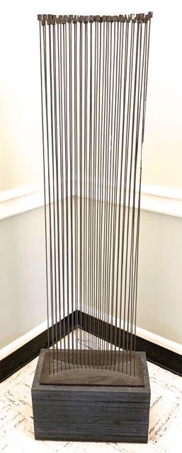 Val Bertoia Kinetic steel sculpture