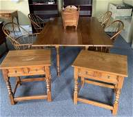 A group of 10 pcs of Stickley cherry furniture