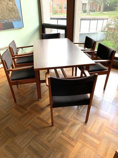 Jens Risom design dining room set