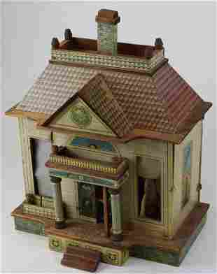 ca 1900 Bliss Mansion House doll house