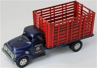 Tonka Farms pressed steel livestock truck