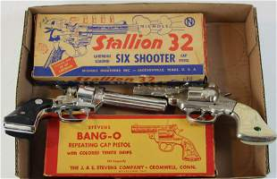 Stevens Bang-O, Nichols Stallion 32 cap guns