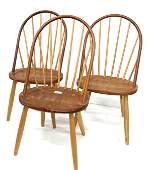 Thos Moser set of 6 Windsor side chairs.