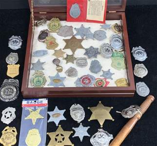 Outstanding collection of vintage youth badges