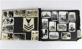 US Navy Sailors Pacific Theater Album