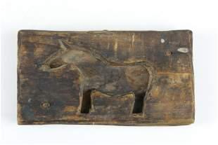 Quebec horse maple sugar mold