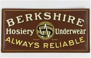 Berkshire Hosiery Underwear sign