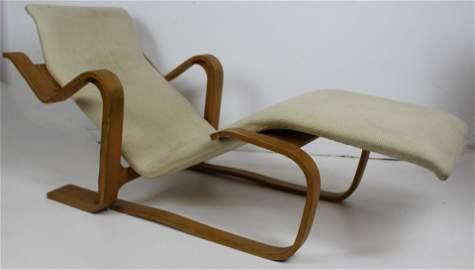 A Marcel Breuer Lounge Chair bent Laminate