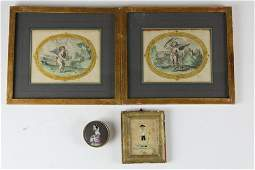 pr early hc engravings needlework picture box