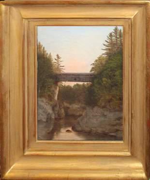 Charles Louis Heyde (VT 1822-1892) High Bridge