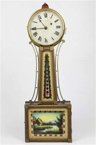 1831 Abbott, Montpelier, VT Banjo Clock