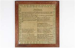 1824 Nancy Reed needlework family register