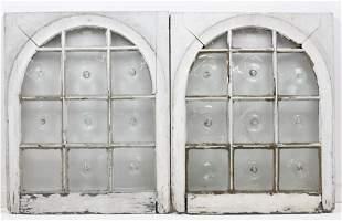 Champlain Glass Works Bullseye Window Panes