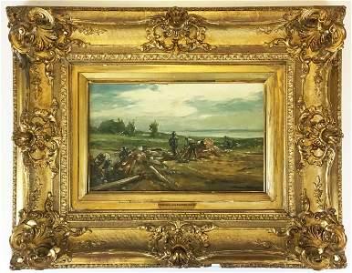 Winslow Homer (AM 1836-1910) Woodcutters
