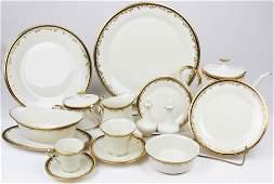 90 pcs Lenox Eclipse Porcelain Dinnerware