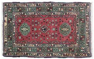 Contemporary Signed Oriental Area Rug