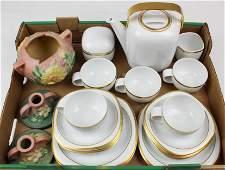 Rosenthal Studio Line Tea Set Roseville Pottery