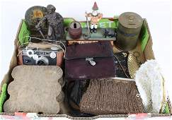 Lot Including Banks Bookends Handbags