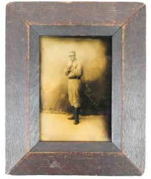 1888 Orotone Photo of Baseball Player