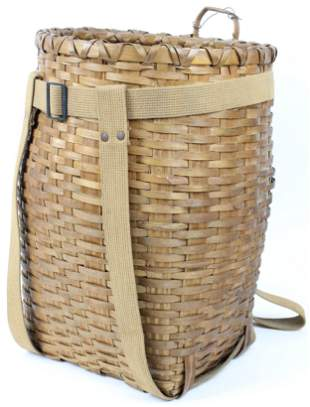 Adirondack Woodsplint Pack Basket