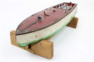 Lionel-Craft Wind-up Speedboat