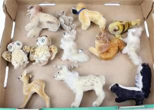 12 Steiff North American Animals