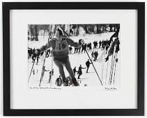 1966 Jean-Claude Killy Skiing Photograph